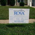 ROVA Yard Sign