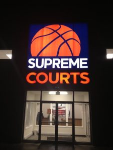 Supreme Courts LED Sign